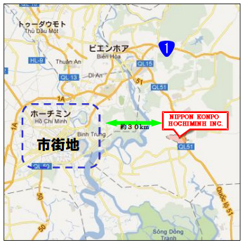 20120222konpou - 日本梱包運輸倉庫/ベトナム・ドンナイ省に子会社設立