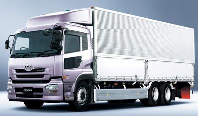 20120312udtr - UDトラックス/Quonシリーズに衝突被害軽減ブレーキ標準装備で発売