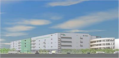 20120319glp - GLP、三井不動産/千葉県市川市で延床12.1万㎡の物流施設開発