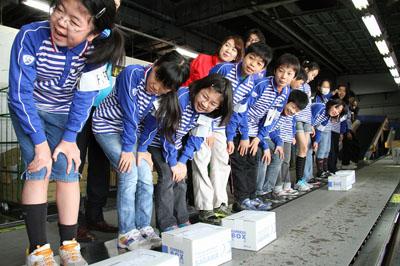 20120329sagawa1 - 佐川急便/職業体験イベントを実施