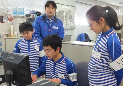 20120329sagawa2 - 佐川急便/職業体験イベントを実施