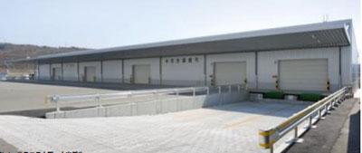 20120412nihonkom1 - 日本梱包運輸倉庫/神戸営業所で新倉庫竣工