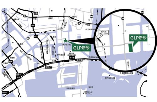 20120417glp13 - GLP/新砂の1.3万坪の物流施設、全面改装