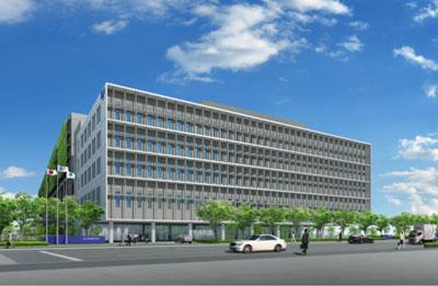 20120426sagawa1 - 佐川急便/江東区新砂にヘッドオフィスと大型物流センター建設