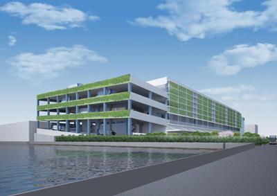 20120426sagawa2 - 佐川急便/江東区新砂にヘッドオフィスと大型物流センター建設