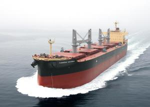 20120517kawasaki2 - 川崎重工/ばら積運搬船を引き渡し