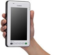20120529canon - キヤノン/タブレット端末クラスの業務用モバイル端末発売