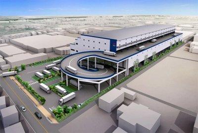 20120529orix4 - オリックス不動産/川越市に5.4万㎡の大型物流拠点、来年5月竣工