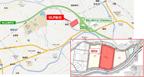 GLP41 - GLP/岡山県総社市に次世代型物流拠点