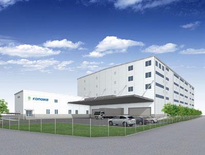 20120822kounoike - 鴻池運輸/厚木市にアパレル専用センター着工