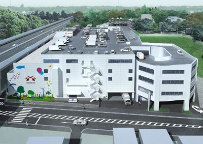 20120822mediseo - メディセオ/川崎市高津区にフルラインの物流センター竣工