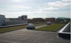 20120829tonami2 - トナミ運輸/屋上緑化設備を導入