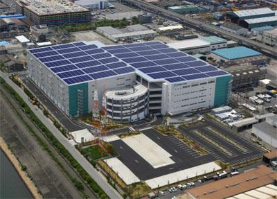 20120903prologi2 - プロロジス/物流施設に太陽光発電本格導入、来春には10MW発電