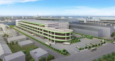 20120907goodman - グッドマン/千葉県市川市に6万㎡の物流施設