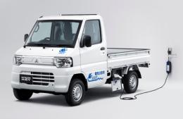 20120928mitsubishim - 三菱自動車/軽トラック電気自動車を初披露