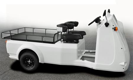 20121017mitsuoka - 光岡自動車/宅配用電気自動車販売、100kg積載