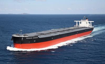 20121017nyk - 日本郵船/25万重量トン型大型鉱石船が竣工