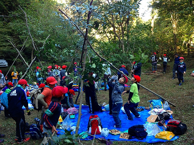 20121030sagawa2 - 佐川急便/子どもたちの「木育」体験教室に社有林を提供