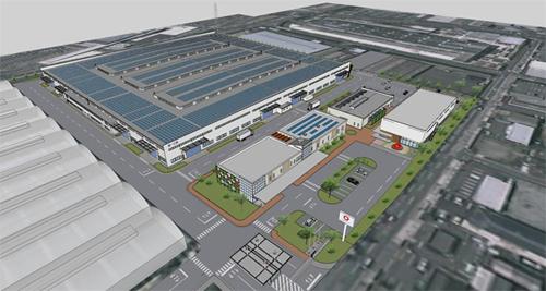 20130227daiwa - 大和ハウス/100億円投じ、奈良工場を住宅専門工場へ建替え