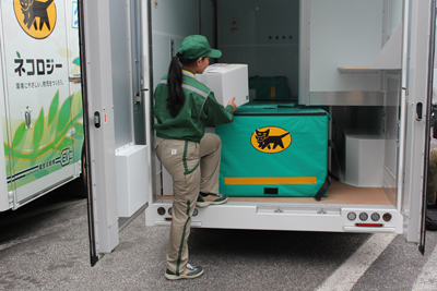 20130301yamato3 - ヤマト運輸/電動(EV)トラック実証運行を3月中旬開始