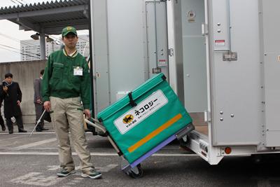 20130301yamato4 - ヤマト運輸/電動(EV)トラック実証運行を3月中旬開始