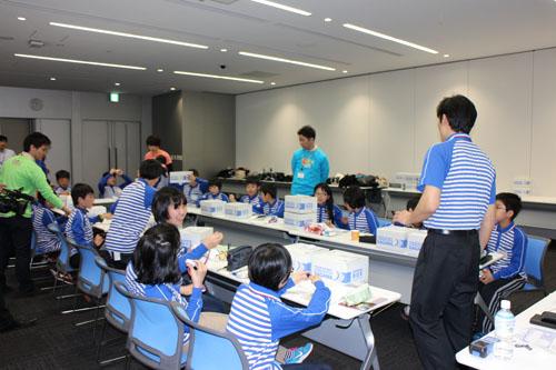 20130328sagawa1 - 佐川急便/小学生19人が宅配便の職業体験