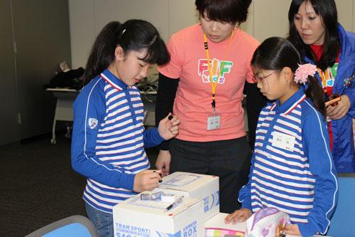 20130328sagawa2 - 佐川急便/小学生19人が宅配便の職業体験