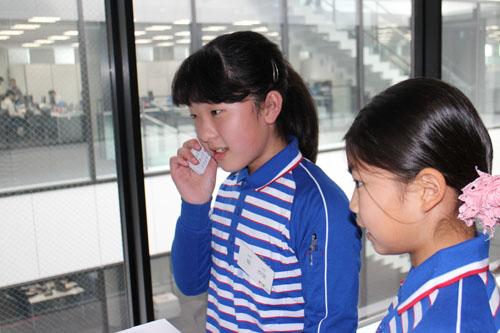 20130328sagawa3 - 佐川急便/小学生19人が宅配便の職業体験