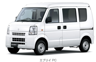 20130410suzuki - スズキ/軽商用車「エブリイ」3AT車の燃費を改善