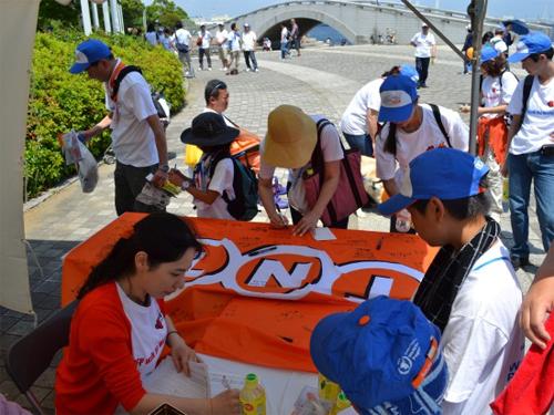 20130417tnt - TNTジャパン/国連世界食糧計画主催のイベントに参加