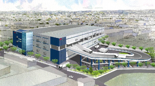20130425orix - オリックス不動産/愛知県犬山市の物流施設、竣工前にテナント決定