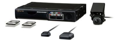 20130521fujitsuten - 富士通テン/デジタコ搭載、業務用ドライブレコーダー発売