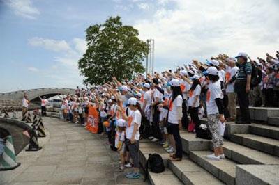 20130610tnt - TNTジャパン/WFP主催の社会貢献プロジェクトに参加