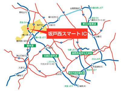 20130626nexco - NEXCO東日本/関越自動車道に坂戸西スマートIC、8月25日オープン
