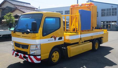 20130628mitsubishifuso - 三菱ふそう/第2世代小型電気トラックを発表