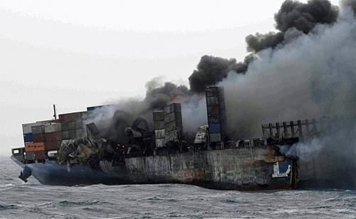 20130712mitsui - 商船三井/MOL COMFORTの浮遊コンテナも大部分海没、監視終了
