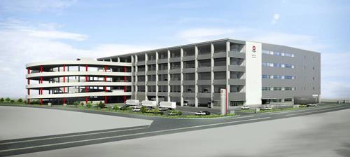 20130716misato - 大和ハウス工業/三郷の新設物流拠点で内覧会