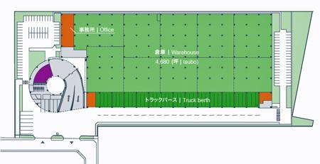 20130919goodman3 - グッドマンジャパン/川崎市川崎区に物流拠点、2014年12月竣工