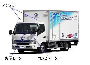 20131010hino1 - 日野自動車/トラックに安全運転支援システムを搭載