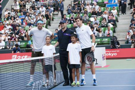 20131022fedex - フェデックス/楽天・ジャパン・オープン・テニスのパートナーとして協賛