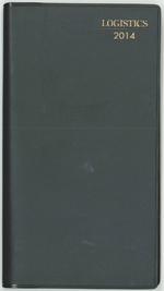 20131203techo1 - ロジスティクス手帳2014/販売開始、価格1800円(税込、送料込み)