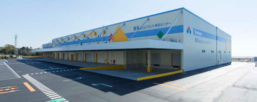 20131224suzuyo - 鈴与/富士市に2.4万㎡の物流センター開業