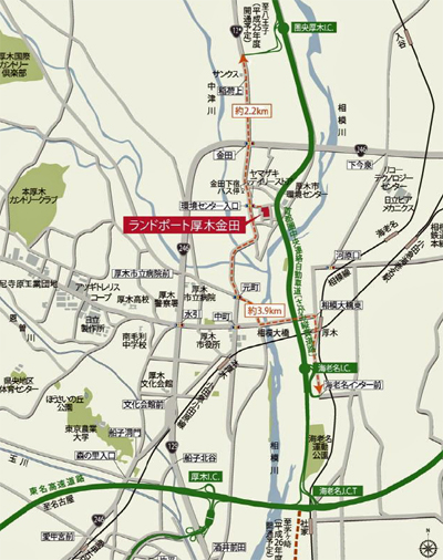20140122nomura2 - 野村不動産/厚木に3.8万㎡の物流施設着工