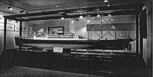 20140130nyk 500x254 - 日本郵船/第二次大戦中に没収された氷川丸の模型を一般公開