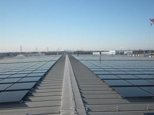 20140403orix1 500x375 - オリックス/日立物流の物流倉庫2か所で太陽光発電稼働