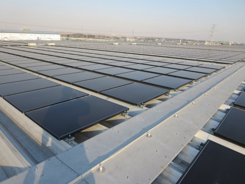 20140403orix2 500x375 - オリックス/日立物流の物流倉庫2か所で太陽光発電稼働
