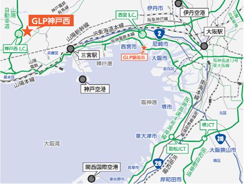GLP/神戸市西区にトライネット・ロジ専用物流施設を開発 | LNEWS