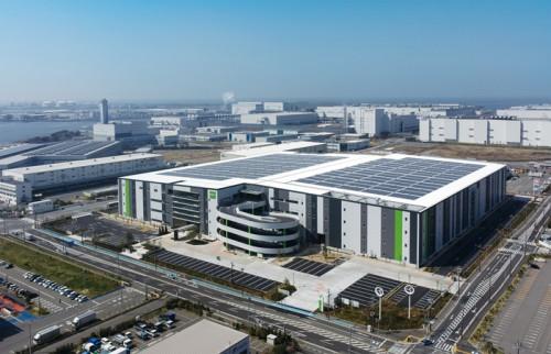20140409goodman1 500x322 - グッドマン/大阪府堺市に13万平方米の物流拠点竣工