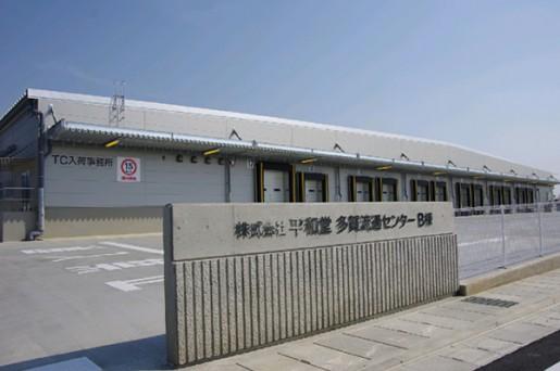 20140530heiwa1 515x342 - 平和堂/滋賀県多賀町に食品・チルドの物流施設、本格稼働