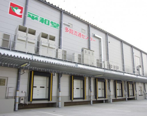 20140530heiwa2 515x405 - 平和堂/滋賀県多賀町に食品・チルドの物流施設、本格稼働